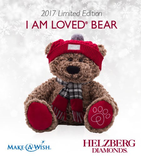 Get a Limited Edition 2017 I Am Loved® Bear*