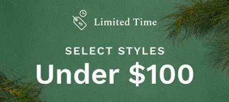 Select Styles Under $100 from Cole Haan