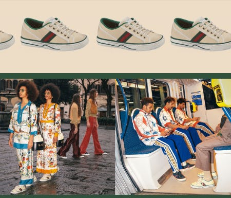 Introducing Gucci Tennis 1977 from Gucci