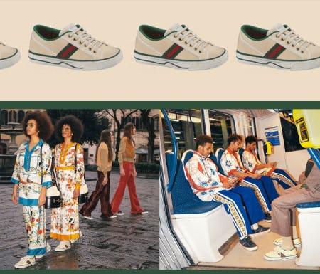 Introducing Gucci Tennis 1977