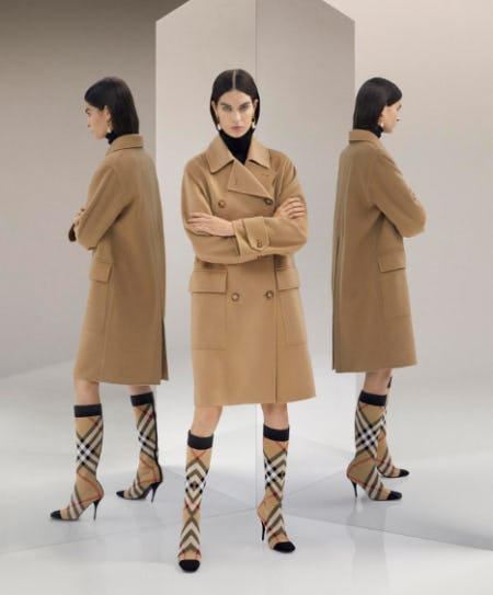 The Cashmere Coat from Burberry