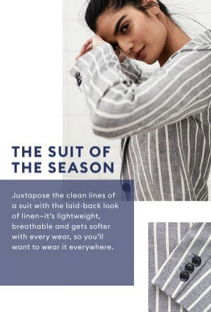 The Suit of the Season from Banana Republic Factory Store