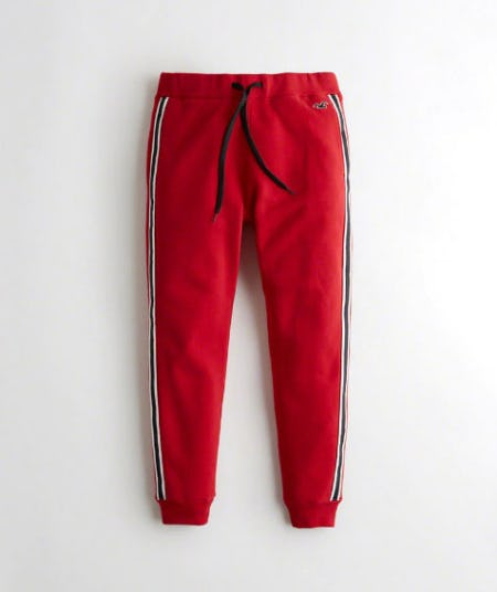 Side-Stripe Jogger Pants from Hollister Co.