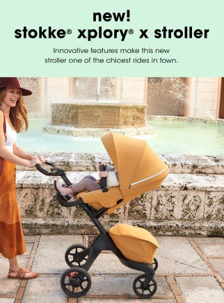 Introducing the Stokke Xplory X Stroller from Bloomingdale's