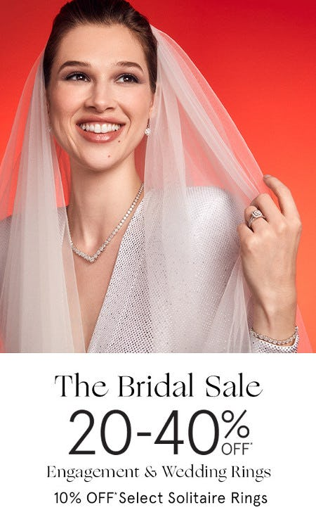 20-40% Off Engagement & Wedding Rings from Zales