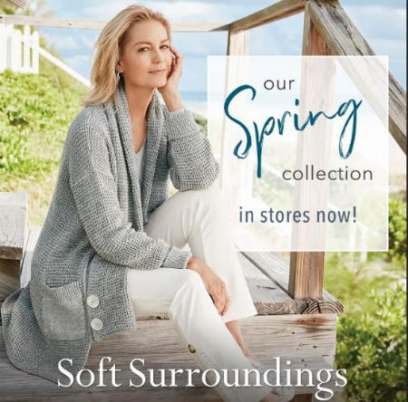 Soft Surroundings Spring Collection Now In Stores! from Soft Surroundings