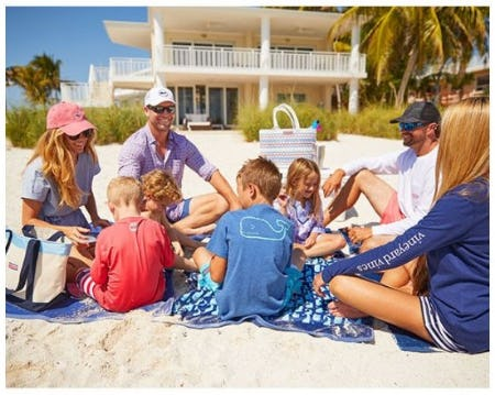 Family Beach Basics from vineyard vines