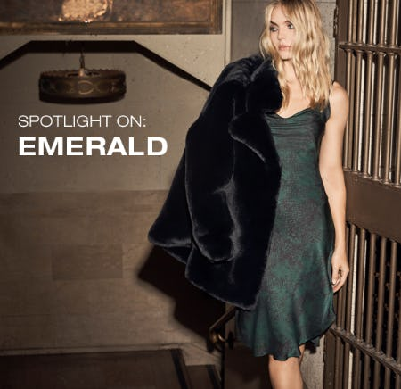 Spotlight On: Emerald from 7 for All Mankind