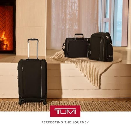 The Iconic Arrivé Collection from TUMI