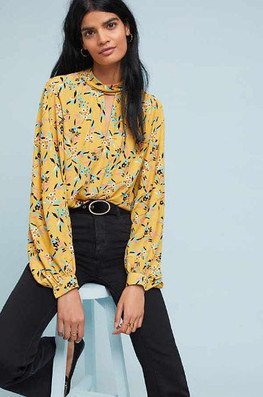 Meadowsweet Blouse from Anthropologie