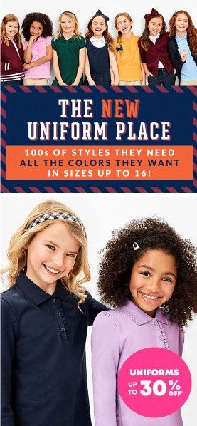 Uniforms up to 30% Off