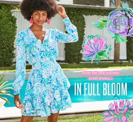 In Full Bloom: A Print Worth Celebrating from Lilly Pulitzer