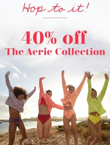 40% Off The Aerie Collection from Aerie