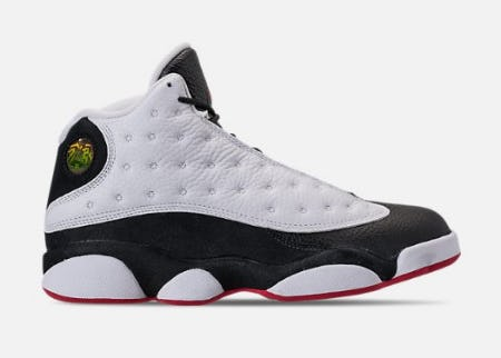 Men's Air Jordan 13 Retro Basketball Shoes from Finish Line