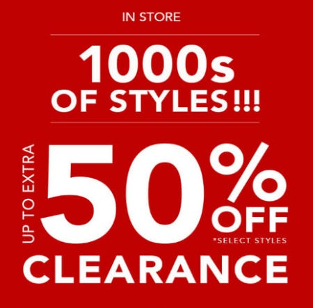 Up to Extra 50% Off Clearance from Tillys