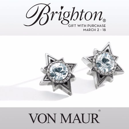 Brighton Halo Swing Earrings Gift With Purchase from Von Maur