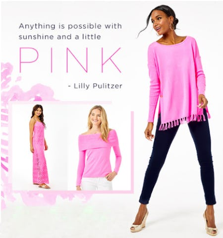 Pinks to Love from Lilly Pulitzer