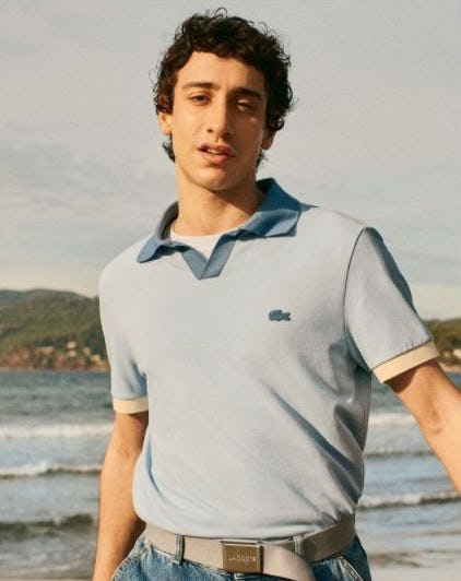 The New Airlight Polo from Lacoste