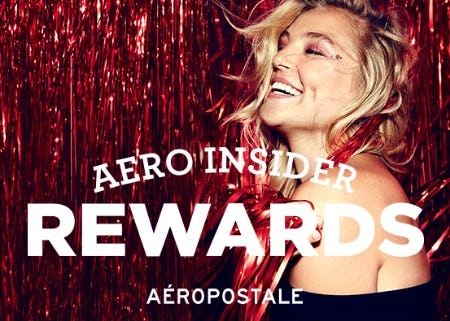 Aero Insider Rewards