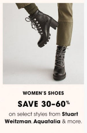 Women's Shoes Save 30-60%