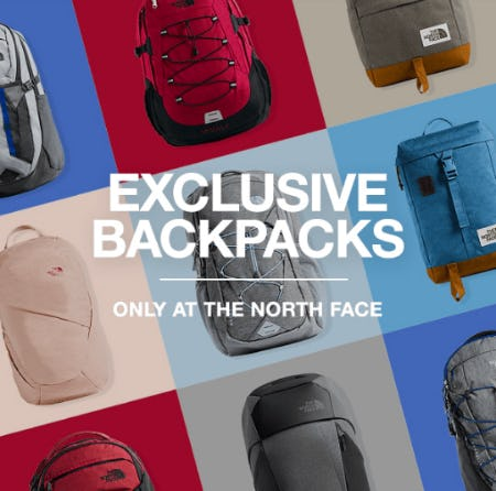 The North Face Exclusive Backpacks