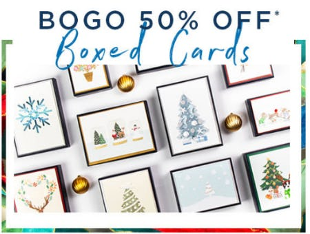 BOGO 50% Off Boxed Cards from PAPYRUS