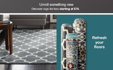 Discover Rugs for Less Starting at $79 from Target