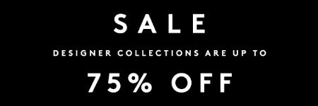 Designer Collection: Up to 75% Off