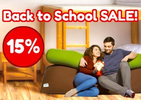 Yogibo Back to School Sale!