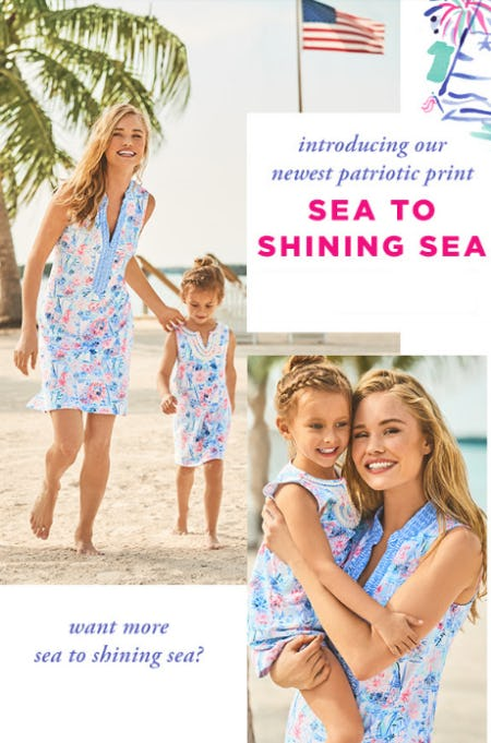 Our Newest Patriotic Print from Lilly Pulitzer