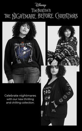 Nightmare Before Christmas Collection Has Arrived from Torrid