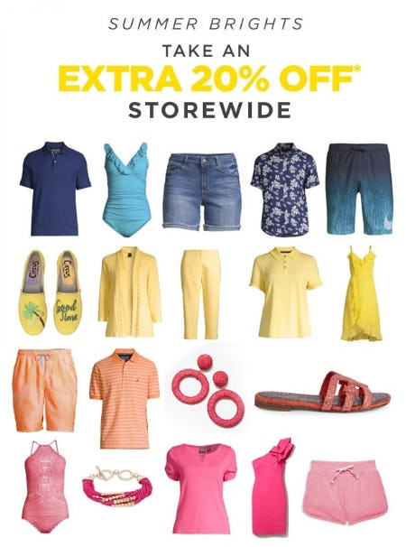 Take an Extra 20% Off Storewide from Lord & Taylor
