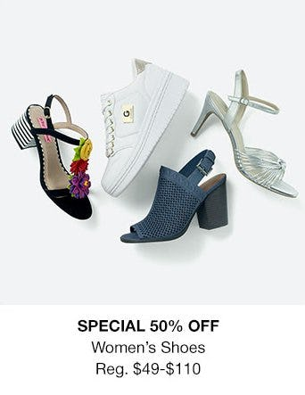 Women's Shoes 50% Off