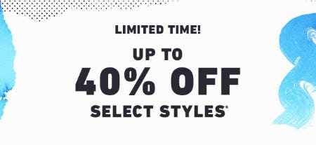 Up to 40% Off Sale from Hollister Co.