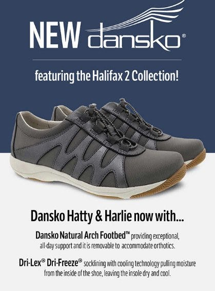 Fresh and New from Dansko from THE WALKING COMPANY