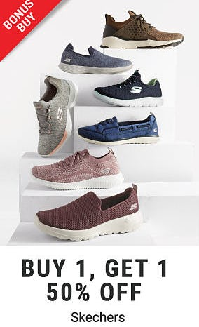 BOGO 50% Off Skechers