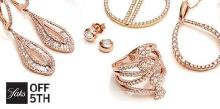 Shop the Saks OFF 5TH Fine Jewelry Flash!