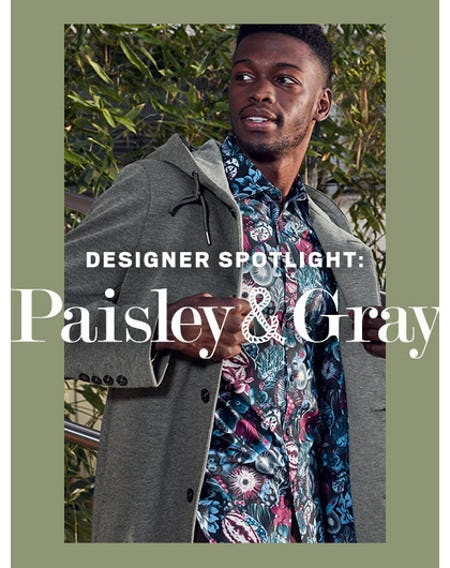 Fall Shirts From Paisley & Gray Just Arrived from Men's Wearhouse