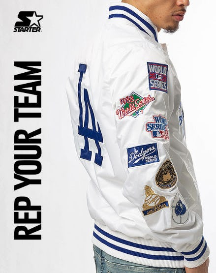 New Styles: Starter Team Jackets from Shiekh