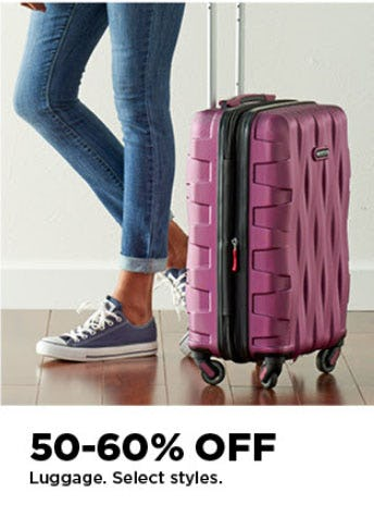 50-60% Off Luggage from Kohl's
