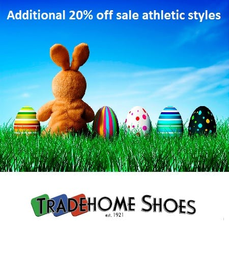 Easter Weekend Sales Event from Tradehome Shoes