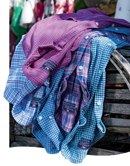 Fall for New Flannel from vineyard vines
