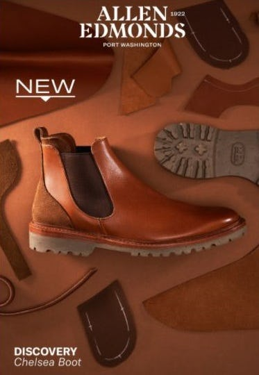 Introducing Our New Discovery Collection from Allen Edmonds