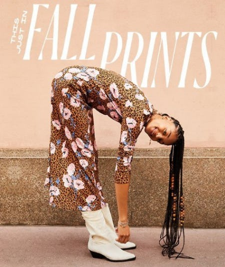 Just In: Fall Prints