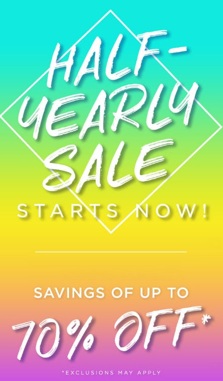 Half-Yearly Sale Up to 70% Off from PAPYRUS