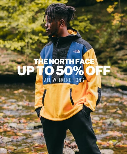 Up to 50% Off The North Face from DTLR