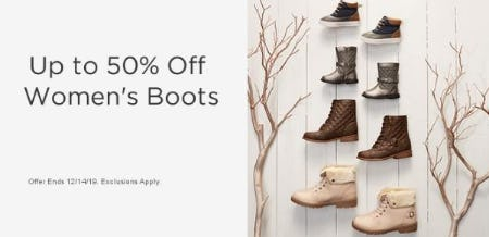 Up to 50% Off Women's Boots from Sears