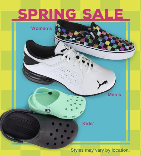 Dream of Spring! from Shoe Dept.