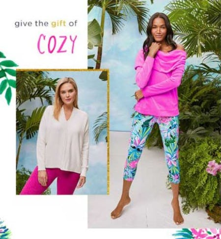 Cozy Essentials: One for You & One for Them​ from Lilly Pulitzer