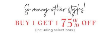 Buy 1, Get 1 75% Off
